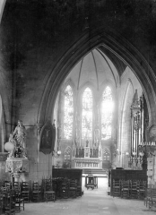 Ancienne église Notre-Dame-de-Froide-Rue ou église Saint-Sauveur - Vue intérieure de la chapelle Saint-Joseph