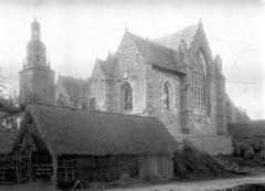 Ancienne collégiale, actuellement église Sainte-Marie-Madeleine - Ensemble sud-est