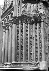 Basilique Saint-Denis - Portail du transept sud : Ebrasement gauche
