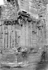 Basilique Saint-Denis - Portail du transept sud : Ebrasement droit