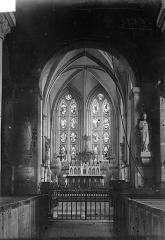 Ancien prieuré de Graville ou ancienne abbaye de Sainte-Honorine - Vue intérieure du choeur