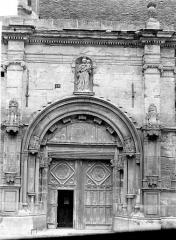 Eglise - Portail de la façade sud