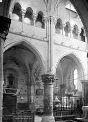 Eglise Notre-Dame - Vue intérieure du choeur : Deux travées