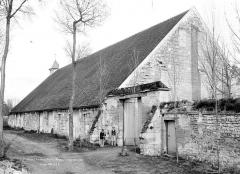 Ancienne abbaye de Maubuisson - Grange, côté ouest
