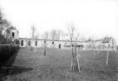 Ancienne abbaye de Maubuisson - Bâtiments abbatiaux : Ensemble est