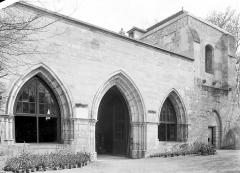 Ancienne abbaye de Maubuisson - Salle capitulaire (supposée) : Façade extérieure