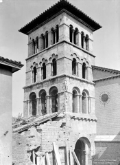 Eglise Saint-Pierre-le-Bas - Clocher, côté sud-ouest