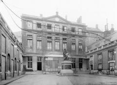 Anciens hôtels de Rohan et Soubise, actuellement Archives Nationales - Façade sur la première cour