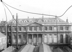 Anciens hôtels de Rohan et Soubise, actuellement Archives Nationales - Façade sur le jardin