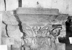 Ancienne chapelle Saint-Aignan - Chapiteau