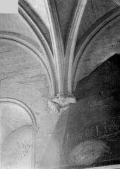 Château de Vincennes et ses abords - Donjon : Départ de voûtes
