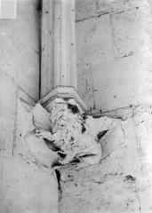 Château de Vincennes et ses abords - Donjon. Console sculptée : Lion de saint Marc