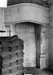 Château de Vincennes et ses abords - Donjon : Cheminée