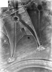 Château de Vincennes et ses abords - Donjon : Voûtes