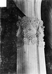 Château de Vincennes et ses abords - Donjon : Chapiteau du pilier