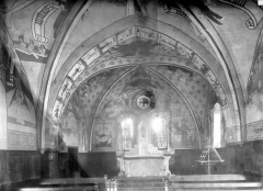 Eglise de la Nativité - Peintures murales du choeur : Vue d'ensemble