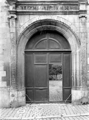 Ancien Hôtel-Dieu - Portail d'entrée