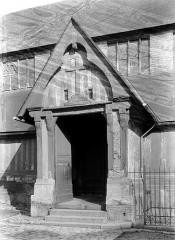 Eglise Sainte-Catherine - Porche de la façade sud