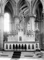 Eglise Saint-Pierre, ancienne cathédrale - Vue intérieure du choeur