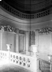 Domaine national : Château de Maisons-Laffitte - Escalier : Palier supérieur