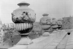 Hôtel de Chenizot - Vases de couronnement