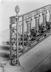 Hôtel de Chenizot - Vue intérieure : Rampes d'escalier