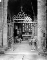 Eglise Notre-Dame de Roscudon - Vue intérieure du choeur