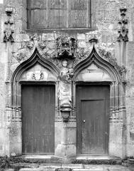 Eglise Notre-Dame - Portail de la façade ouest