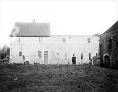 Prieuré de Saint-Jean-des-Bonshommes - Réfectoire : Façade extérieure