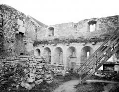 Prieuré de Saint-Jean-des-Bonshommes - Réfectoire : Vue intérieure