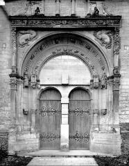 Eglise Saint-Symphorien - Portail de la façade nord