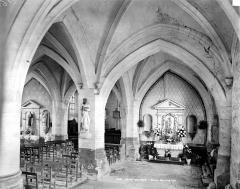 Eglise Saint-Symphorien - Vue intérieure du bas-côté sud