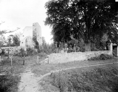 Ancienne église Saint-André - Vue prise du cimetière