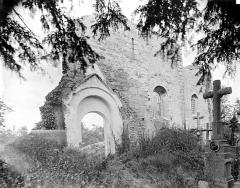 Ancienne église Saint-André - Reste de façade et portail