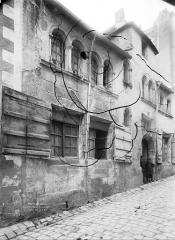 Hôtel de la Bidolière - Façade sur rue, en perspective