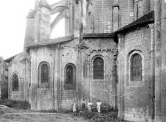 Eglise Saint-Jean de Montierneuf - Abside, côté sud