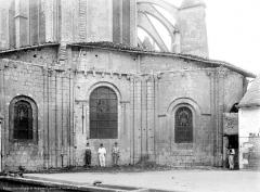 Eglise Saint-Jean de Montierneuf - Abside, côté nord