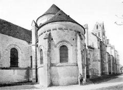 Eglise Saint-Martin - Façade nord en perspective