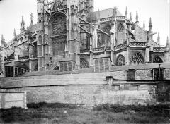 Eglise Saint-Maclou - Façade sud