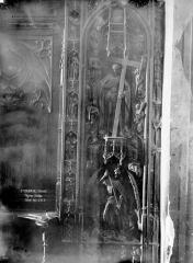 Eglise Saint-Cernin - Stalle : jouée