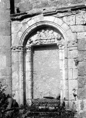 Eglise Saint-Hilaire et ancien monastère - Portail du transept sud