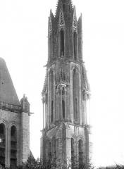 Ancienne cathédrale et son chapître - Clocher : Partie supérieure