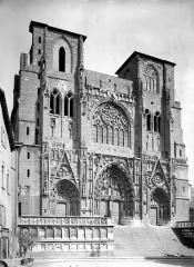 Eglise Saint-Maurice, anciennement cathédrale - Ensemble ouest
