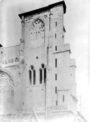 Eglise Saint-Maurice, anciennement cathédrale - Façade ouest : Tour sud