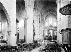 Eglise Notre-Dame - Vue intérieure de la nef vers le nord-est