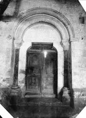 Ancienne abbaye de Flaran - Portail de la façade ouest