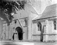 Chapelle Notre-Dame de Kernitron - Façade sud : Porche