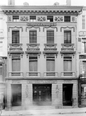 Maison de Clodion - Façade sur rue (ensemble)