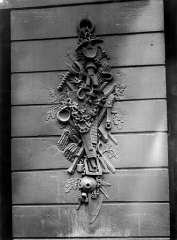 Maison de Clodion - Façade sur rue : Pile gauche du rez-de-chaussée