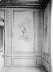 Palais de l'Elysée - Salon d'argent : Panneau à droite de la cheminée